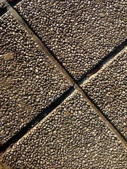Sidewalk, Tiles, Stone, Floor, Texture, Road, Park
