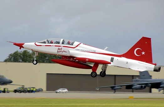 Aircraft, Jet, Start, Take Off, Canadair, Nf 5b