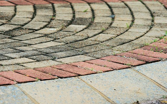 Paving, Stones, Tiles, Curved, Curves, Pavement, Floors
