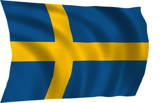 Sweden Flag, Flag, National, Sweden, Symbol, Europe