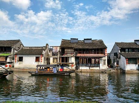 Xitang, The Ancient Town, The Scenery