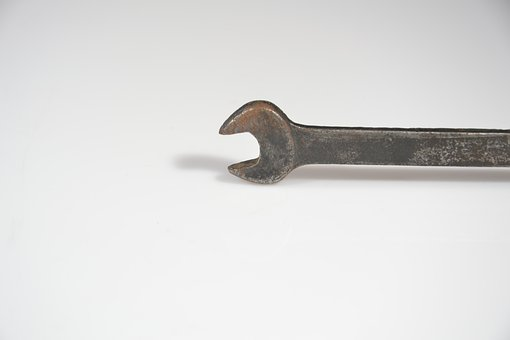Wrench, Key, Tools, Screw On, Tighten