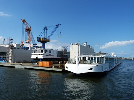 Hafenkram, Crane, Port, Warnemünde, Rostock, Baltic Sea