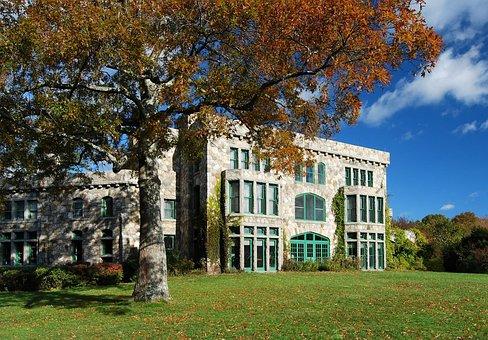 Easton, Massachusetts, Landscape, Ames Mansion, House