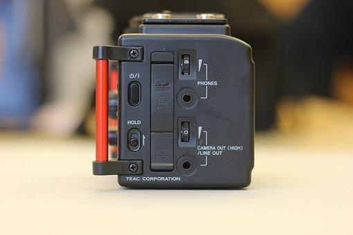 Tascam Dr-60d, Audio Recorder, Sound