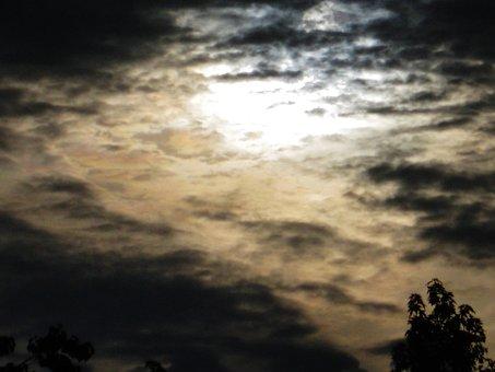 Dark, Sun, Awakening, Mysterious, Interesting, Clouds
