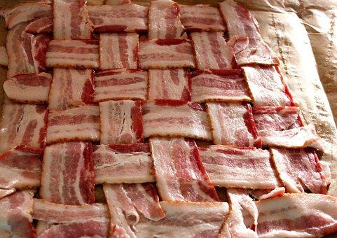 Bacon, Bacon Strip, Bacon Cross Hatch
