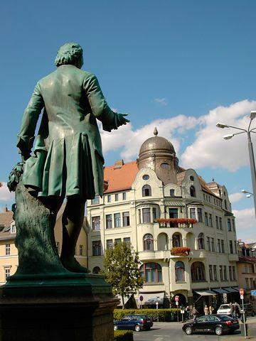 Wieland, Monument, Still Image, Bronze, Weimar