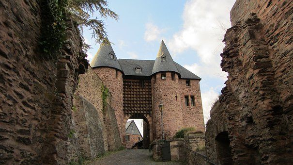 Burg Hengebach, Castle, Heimbach, Eifel National Park