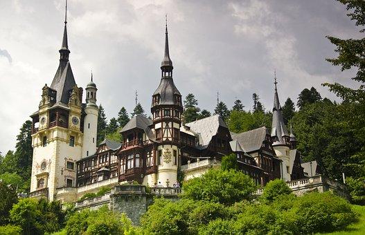 Peles Castle, Architecture, Sinaia, Romania, Castle