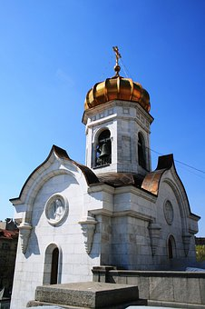 Cathedral, Russian Orthodox, Religion, Architecture