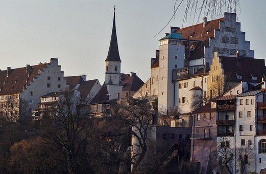 Wasserburg Am Inn, Homes, Castle, Church, Architecture