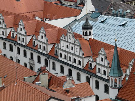 Facades, City, Old Town, Homes, Architecture, Town Hall