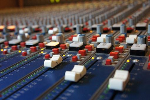 Fader, Analog, Sound Studo, Mixing, Console, Desk