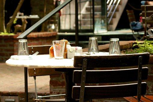 Restaurant, Diner, Cafe, Eat, Retro, Vintage, Dishes