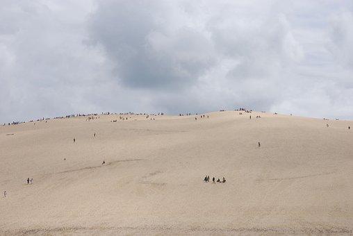 Dune, Sand, France, Dune Du Pilat