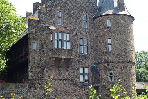 Erftstadt, Konradsheim, Castle, Wasserburg, Old