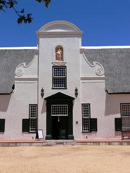 Cape Dutch, Farmhouse, Groot Constantia, Cape Town