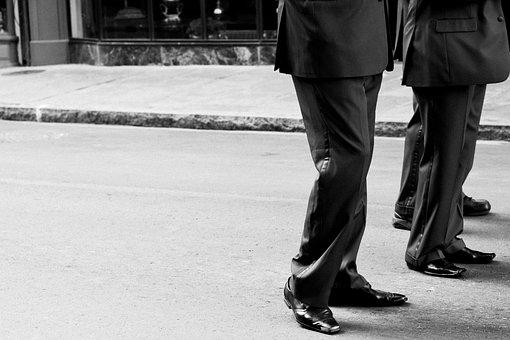 Uniform, Shoes, Men, Walking, Steps, Shoe, Fashion
