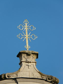 Cross, Double Cross, Golden, Fürstenzell Port Church
