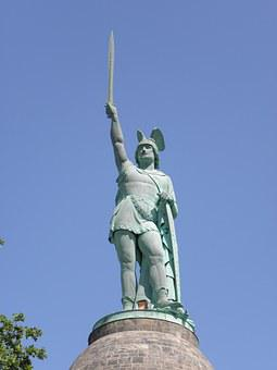 The Hermannsdenkmal, Statue, Germany