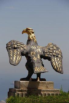 Adler, Statue, Gold, Bird, Monument, Sculpture, Fig