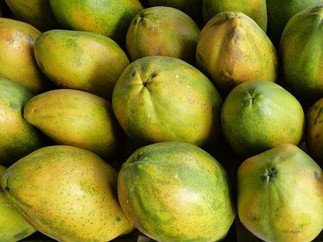 Papaya, Fruits, Fruit, Exotic, Jungle, South America
