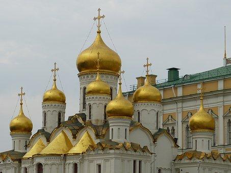 Moscow, Russia, Capital, Kremlin, Historically