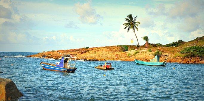 Beach, Calhetas, Mar, Ocean, Cabo De Santo Agostinho
