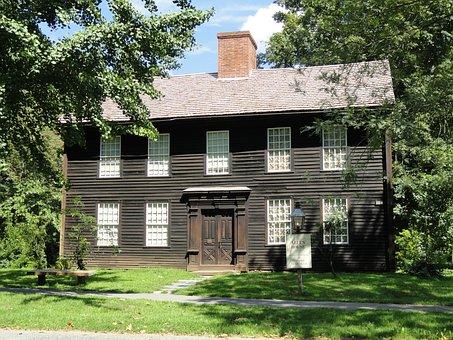 House, Home, Allen House, Deerfield, Massachusetts