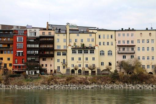 Wasserburg Am Inn, City, River, Middle Ages