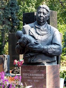 Moscow, Cemetery, Grave, Tombstone, Old Cemetery
