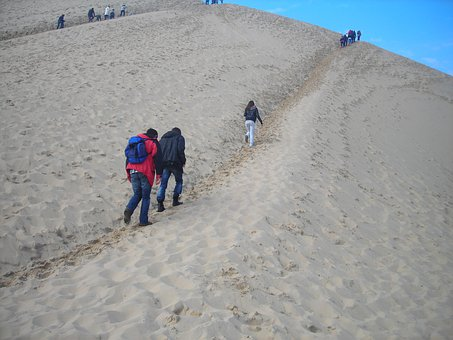 Dune Of Pilat, Mount, Sand, Atlantic Coast