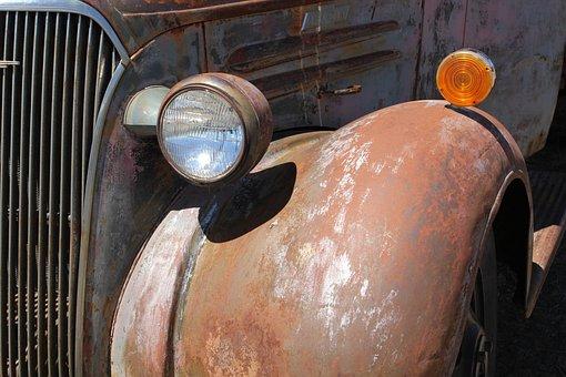 Antique, Truck, Pick-up, Vintage, Old, Vehicle