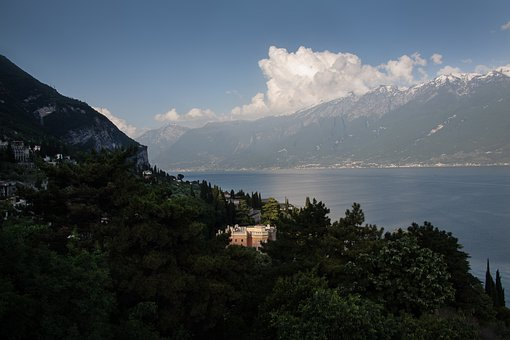 Villa, Castle, Dream Home, Hotel, Garda, Lake, Panorama