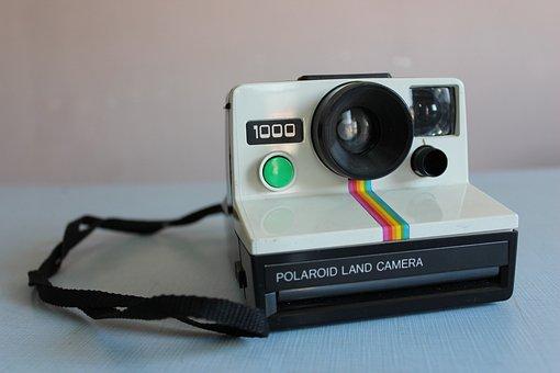 Polaroid, Camera, Vintage, Retro, Old, Pictures, Photo