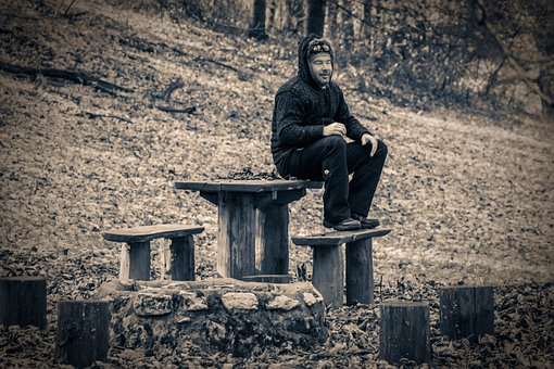 Resting, Park, Having A Rest, Autumn, Nature, Forest