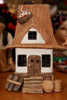 Romanian Folk, Clay, Romanian Traditional House