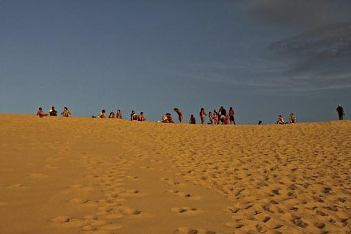 Dune You Pilat, Dune, France, Sand Dune, Sand, Atlantic