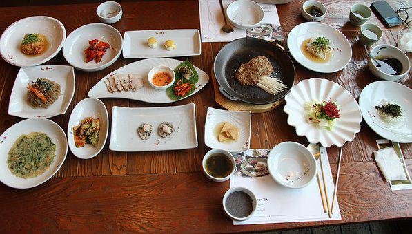Traditional Korean Meal, To Drink, Folks