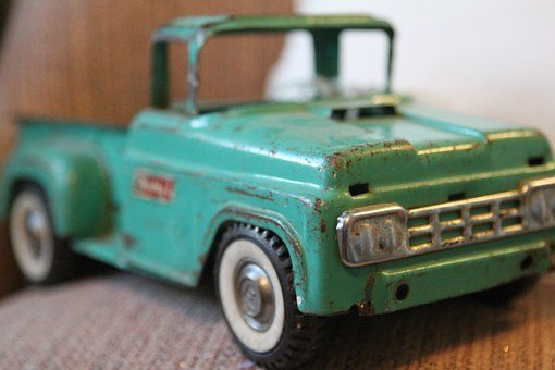 Toy, Truck, Antique, Collectible, Fun, Colorful
