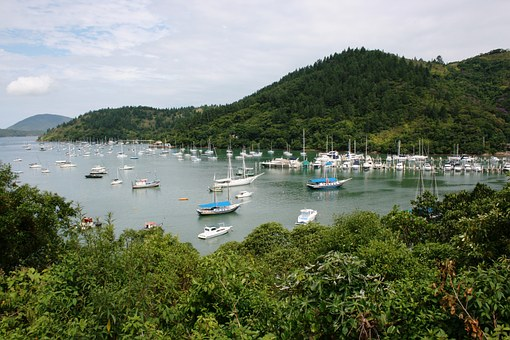 Boats, Marina, Mar, Ubatuba, Litoral, Rio Santos