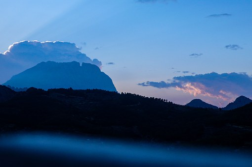 Alicante, Spain, Landscape, Walk, Mountaineering