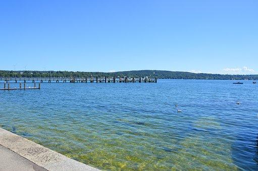 Starnberger See, Lake, Water, Summer