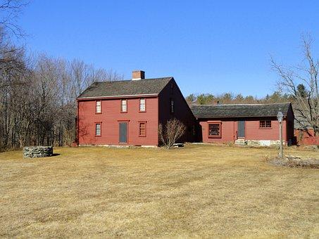 North Grafton, Massachusetts, Home, House, Well, Wood