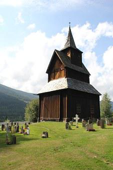 Church, Wood, Norway, Bell Tower, Wooden Church
