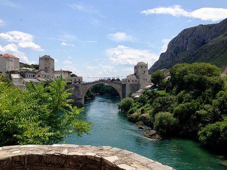 River, Monument, Bridge, Architecture, Monuments