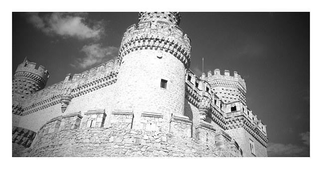Castle, Spain, Monument, Fortress, Madrid, Architecture