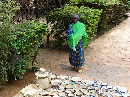 Maasai, Arusha, Wiman, Seller, Africa