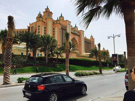 Hotel, Dubai, Atlantis Hotel, U A E